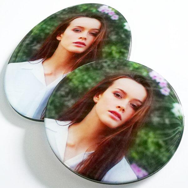 3D Kunsthars ovale en ronde vorm