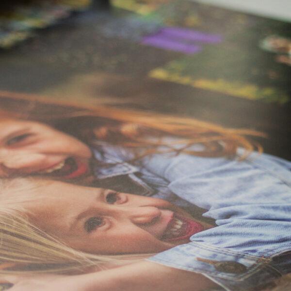 Placemat A3 eigen foto closeup